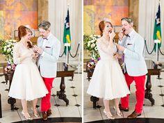 Red Hot City Hall Celebration - Liz and Paul's Dublin City Hall Wedding - One Fab Day City Hall Wedding, Dublin City, Bridesmaid Dresses, Wedding Dresses, Veil, Couples, Celebrities, Hot, Irish