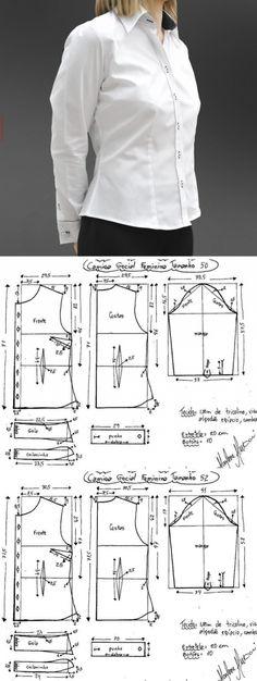 Dress Sewing Patterns, Clothing Patterns, Sewing Blouses, Shirt Blouses, Shirts, Diy Fashion, Designer Dresses, Girls Dresses, Singer