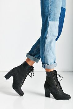 Timberland Glancy Wheat Heeled Boot on ShopStyle