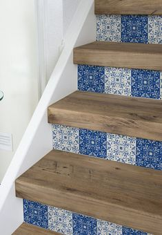 10 Strips Of Stair Riser   Portugese | Removable Sticker Peel U0026 Stick |  Staircase Decor | Staircase Decals | Removable Star Riser Decals S#7
