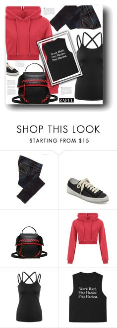 """ZAFUL"" by snezanamilunovic ❤ liked on Polyvore featuring Pepe Jeans London"