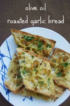 Olive Oil Roasted Garlic Bread | The Nosher - My Jewish Learning