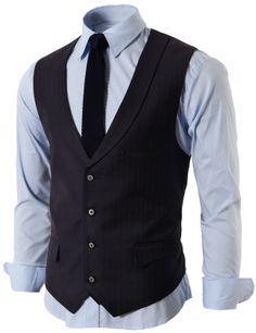 $48.00 Mens Modern Suit Vest 4 Button Closer With Shawl Collar (KMOV06)&url=http://www.doublju.com/mens-modern-suit-vest-4-button-closer-with-shawl-collar-kmov06