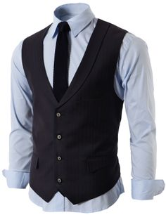 $48.00 Mens Modern Suit Vest 4 Button Closer With Shawl Collar (KMOV06)&url=http://www.doublju.com/mens-modern-suit-vest-4-button-closer-with-shawl-collar-kmov06