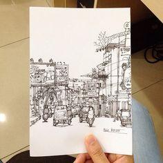 central   #mekaworks #drawing #medan #indonesia