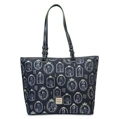 Disney Parks Dooney & Bourke Portraits Haunted Mansion Tote New with Tags