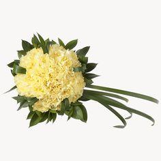 Wedding Flowers: Yellow carnations - Bridesign.com