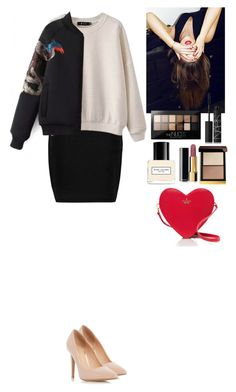 """Outfit Beautifulhalo"" by eliza-redkina ❤ liked on Polyvore featuring Alexander Wang, Dorothy Perkins, Maybelline, Tom Ford, Chanel, NARS Cosmetics, Marc Jacobs, Kate Spade, women's clothing and women"