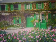 pictures of monets house and gardens | Monet's Garden | Seaside Meanderings