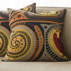 Reminiscent of Aboriginal art from Australia Great #color palette