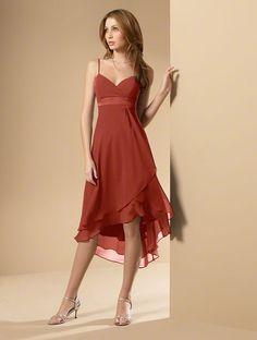 Bridesmaid dress option - Burnt Orange