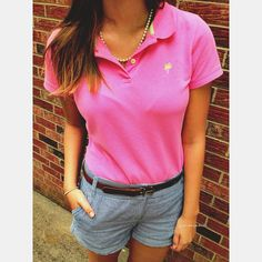 """633 Likes, 1 Comments - Hayley (@simplyhayleyjane) on Instagram: """"A flash back to some old outfits 💕 Love my Lilly Pulitzer polo 😋"""""""