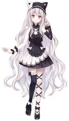 neko girl anime | wow I can actually see a neko look like this