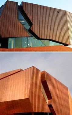Forget aluminum siding for your house or building, go with cooper siding!