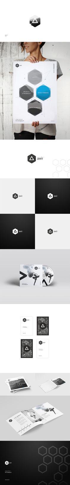 Rebrending of advertisng agency, new logo etc