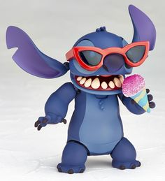Revoltech's Stitch Figure Is Just the Gosh Darn Cutest Little Thing