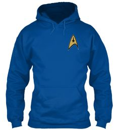 Welcome Trekkies Royal T-Shirt Front