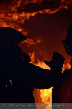 Teaching in fire.