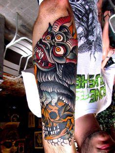 Tattoo by El Carlo   http://alohatattoosbarcelona.wordpress.com
