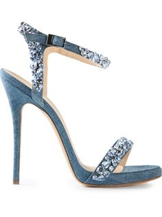 Ermanno Scervino - jewel embellished sandals 5