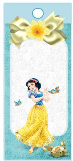 Cute Snow White Free Printalbe Kit.