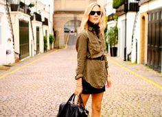 look gola + casaco