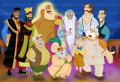 Disney Dads by ~AladdinsFan on deviantART