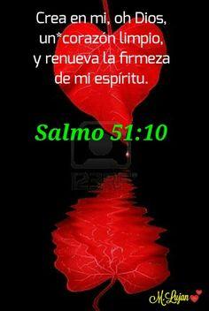 Crea en mi, oh Dios un corazón limpio