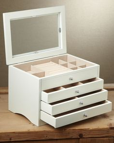 jewelry box for vanity