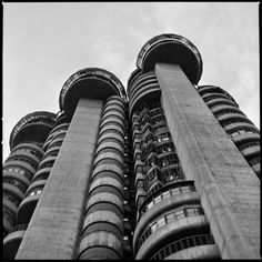 Torres Blancas (White Towers), Madrid Arch. F.J. Sáenz de Oiza 1964-68 More at https://www.behance.net/gallery/34860081/BRUTALISMUS