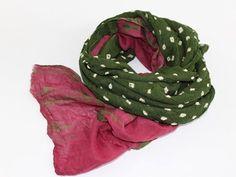 Green Cotton Scarves - Tie Dye Scarf  - Avocado Green - Soft - Sarong - Large Cotton Scarf summer scarf - beach wrap around - sarongs pareo