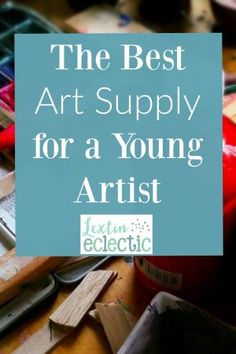 See if this sounds familiar….. Your kids love art and all kinds of artsy, crafty projects. But if you're being honest, you're not a huge fan. Oh the mess! The spills, the paint, the drips, and the smears. Well, I've found the perfect art supply for kids and it's especially great for little ones!