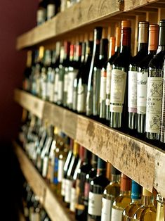 I like to keep a few bottles of wine on hand.  You know, just for emergencies...   ~~ Houston Foodlovers Book Club