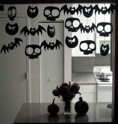 Halloween: Fledermaus Dekoration