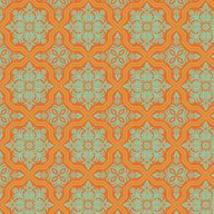 Joel Dewberry - Heirloom - Tile Flourish - Amber