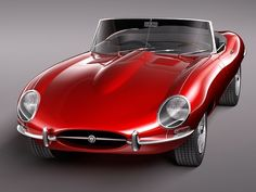Jaguar E Type.  Possibly the most beautiful production car ever.