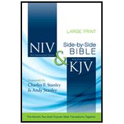 NIV/KJV Parallel Bible, Largeprint - Imperfectly Imprinted Bibles