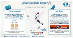 """Bimbo te ofrece la posibilidad de hacerte con uno de los 300 ositos que regalan por la compra del producto """"Pan Bimbo 100% Natural"""". Promoción válida para España hasta 02/10/2012 o Agotar Existencias (Primeras 300 solicitudes válidas)."""