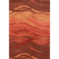 Alliyah Handmade Rust New Zealand Blend Wool Rug (8' x 10') - Overstock™ Shopping - Great Deals on Alliyah Rugs 7x9 - 10x14 Rugs