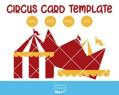 Circus Tent Birthday Invitation SVG by SavanasDesign on Create Birthday Invitations, Carnival Invitations, Font Software, Scrapbook Designs, Embroidery Files, Print And Cut, Make And Sell, Making Ideas, Tent