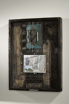 Fire: My Favorite Building, Thomas Mann, Storm Cycle series #art #shadowbox