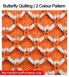 This knitting pattern is for the beginner knitter. Easy to use Slip stitch method to create butterfly effect on the front. Crochet Purse Patterns, Easy Knitting Patterns, Knitting Stitches, Knitting Designs, Knitting Projects, Stitch Patterns, Butterfly Quilt, Jumbo Yarn, Colour Pattern