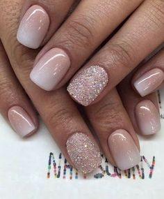 Nails nail designs nail art nails acrylic sns nails sns nails colors sns n Sns Nails Colors, Pink Nails, Gel Nails, Nail Polish, Toenails, Coffin Nails, Gel Toes, Neutral Nails, Nail Nail