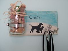 Dog Leash and Treat Holder Personalized Perfect For Leash Training Your Puppy