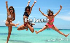 I want to be able to be on the beach.. and be comfortable