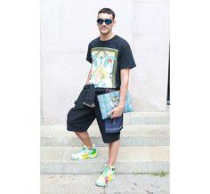 Street looks à la Fashion Week homme printemps-été 2014 de Milan, Jour2 http://www.vogue.fr/vogue-hommes/mode/diaporama/street-looks-a-la-fashion-week-homme-printemps-ete-2014-de-milan-jour-2/14034/image/781413#!25