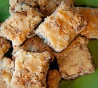 German Chocolate Bars (starting with boxed cake mix)
