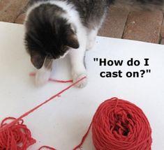 Making a scarf Knitting Quotes, Knitting Humor, Knitting Books, Circular Knitting Needles, Knitting Stitches, Knitting Patterns Free, Stitch Patterns, Knitting Club, Vogue Knitting