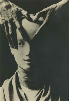 "zzzze: "" Berenice Abbott, Cocteau's Hand on Mask of Antigone, c,1927 """