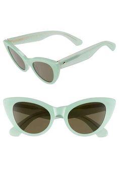 21cd2426c5f6 kate spade new york  deandra  50mm cat eye sunglasses Latest Sunglasses